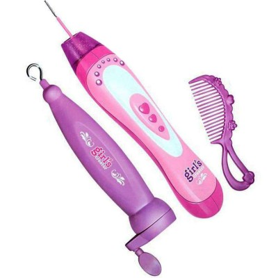 Planet of Toys Hair Beader 2 in 1 Double The Fun Girls